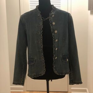 Spring jeans jacket by Christopher & Banks